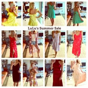NWT Lulu's Sexy Summer Cocktail Dresses